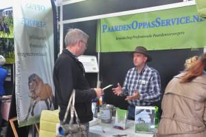 Stand Paarden Oppas Service bij Paard en Koets