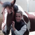 Nikki op de foto gezet door Paarden Oppas Service